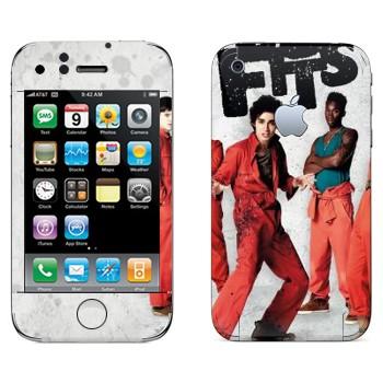 Виниловая наклейка «Отбросы 1-й сезон» на телефон Apple iPhone 3GS