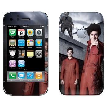 Виниловая наклейка «Отбросы 2-й сезон» на телефон Apple iPhone 3GS