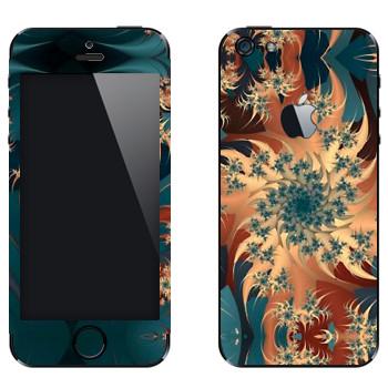 Виниловая наклейка «Калейдоскоп карусель» на телефон Apple iPhone 5