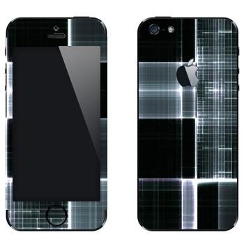 Виниловая наклейка «Клеточки в рентгене» на телефон Apple iPhone 5