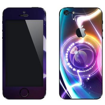 Виниловая наклейка «Объектив нереальный» на телефон Apple iPhone 5