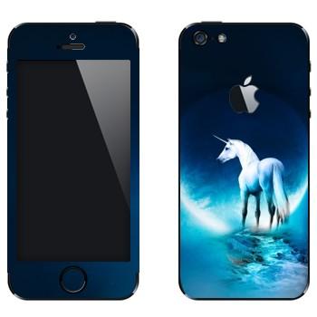 Виниловая наклейка «Единорог» на телефон Apple iPhone 5