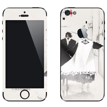 Виниловая наклейка «Kenpachi Zaraki» на телефон Apple iPhone 5
