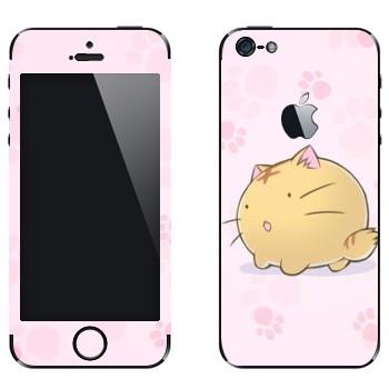 Виниловая наклейка «Poyopoyo - Kawaii» на телефон Apple iPhone 5