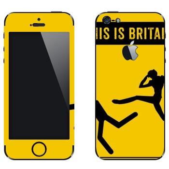 Виниловая наклейка «Suzaku Spin - Код Гиасс» на телефон Apple iPhone 5