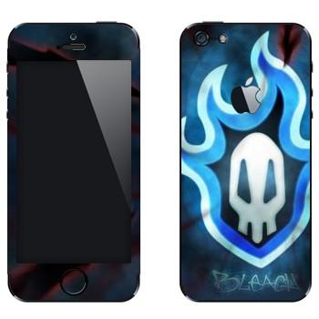 Виниловая наклейка «Блич лого» на телефон Apple iPhone 5