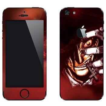 Виниловая наклейка «Хеллсинг - Hellsing» на телефон Apple iPhone 5