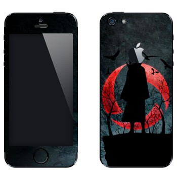 Виниловая наклейка «Итачи Учиха - Наруто» на телефон Apple iPhone 5