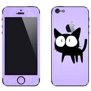 Виниловая наклейка «Та-Кун  - Kawaii» на телефон Apple iPhone 5