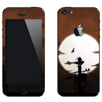 Виниловая наклейка «Учиха Итачи» на телефон Apple iPhone 5