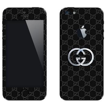 Виниловая наклейка «Gucci» на телефон Apple iPhone 5