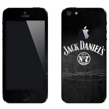 Виниловая наклейка «Виски  - Jack Daniels» на телефон Apple iPhone 5