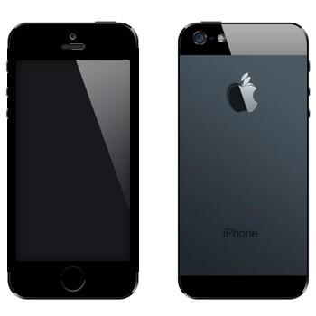 Виниловая наклейка «А-ля iPhone 5» на телефон Apple iPhone 5