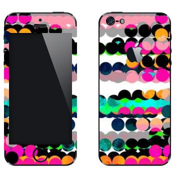 Виниловая наклейка «Разноцветные шары - Georgiana Paraschiv» на телефон Apple iPhone 5