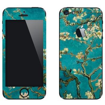 Виниловая наклейка «Ван Гог  - Цветущее Миндальное Дерево» на телефон Apple iPhone 5
