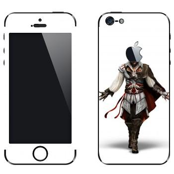 Виниловая наклейка «Assassin 's Creed 2» на телефон Apple iPhone 5