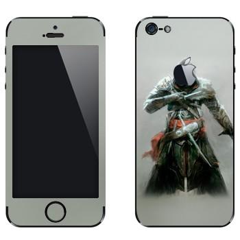 Виниловая наклейка «Assassin's Creed: Revelations - невидимый убийца» на телефон Apple iPhone 5