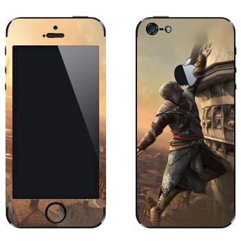 Виниловая наклейка «Assassin's Creed: Revelations - падение» на телефон Apple iPhone 5