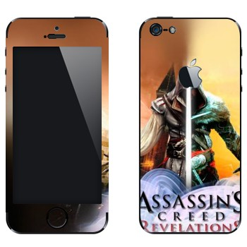 Виниловая наклейка «Assassin's Creed: Revelations» на телефон Apple iPhone 5