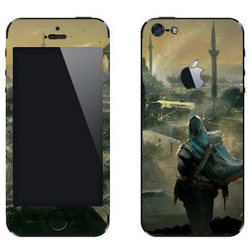 Виниловая наклейка «Assassin's Creed» на телефон Apple iPhone 5