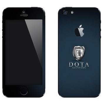 Виниловая наклейка «DotA Allstars» на телефон Apple iPhone 5