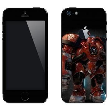 Виниловая наклейка «Firebat - StarCraft 2» на телефон Apple iPhone 5
