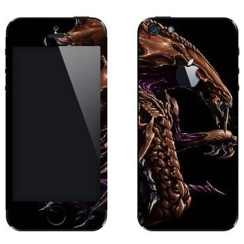 Виниловая наклейка «Hydralisk» на телефон Apple iPhone 5