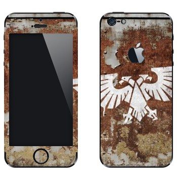 Виниловая наклейка «Imperial Aquila - Warhammer 40k» на телефон Apple iPhone 5