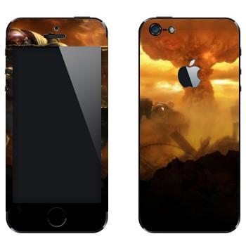 Виниловая наклейка «Nuke, Starcraft 2» на телефон Apple iPhone 5