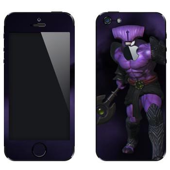 Виниловая наклейка «Безликий ужас - Dota 2» на телефон Apple iPhone 5