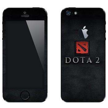 Виниловая наклейка «Dota 2» на телефон Apple iPhone 5