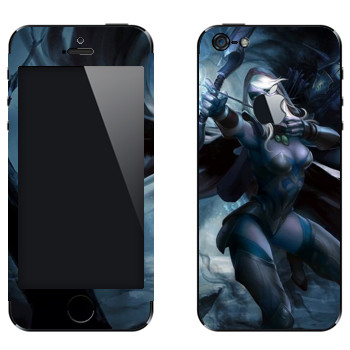 Виниловая наклейка «Дроу Рейнджер - Dota 2» на телефон Apple iPhone 5