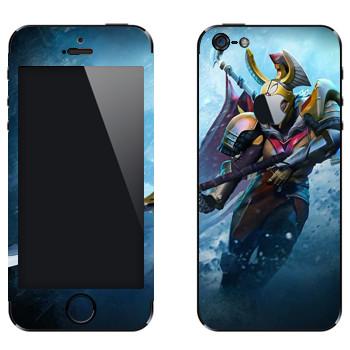 Виниловая наклейка «Командир Легиона - Dota 2» на телефон Apple iPhone 5