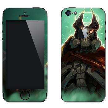Виниловая наклейка «Король призраков - Dota 2» на телефон Apple iPhone 5
