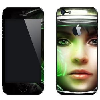 Виниловая наклейка «Медик - StarCraft 2» на телефон Apple iPhone 5