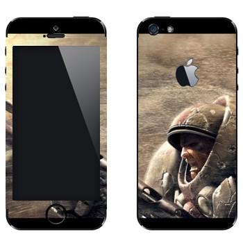 Виниловая наклейка «Морпех - StarCraft 2» на телефон Apple iPhone 5
