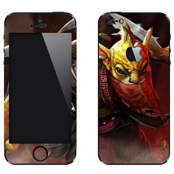 Виниловая наклейка «Охотник за головами - Dota 2» на телефон Apple iPhone 5