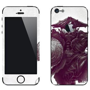 Виниловая наклейка «Пандарен в амуниции - World of Warcraft» на телефон Apple iPhone 5