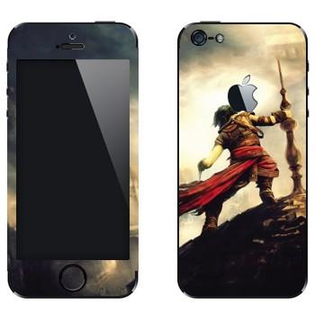 Виниловая наклейка «Принц Персии» на телефон Apple iPhone 5