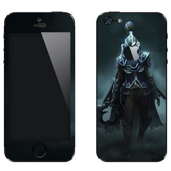 Виниловая наклейка «Призрачный убийца - Dota 2» на телефон Apple iPhone 5