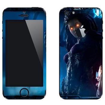 Виниловая наклейка «Сара Керриган - StarCraft 2» на телефон Apple iPhone 5