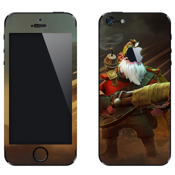 Виниловая наклейка «Снайпер - Dota 2» на телефон Apple iPhone 5