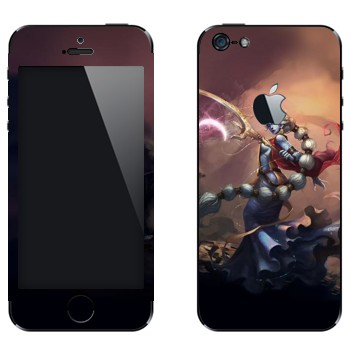Виниловая наклейка «Сорака - Звездное дитя» на телефон Apple iPhone 5