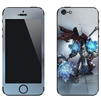 Виниловая наклейка «Тарик - Самоцветный рыцарь» на телефон Apple iPhone 5