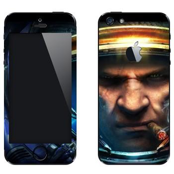 Виниловая наклейка «Тайкус Финдли - Star Craft 2» на телефон Apple iPhone 5