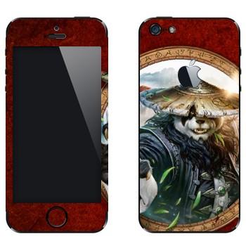 Виниловая наклейка «Туманы Пандарии» на телефон Apple iPhone 5