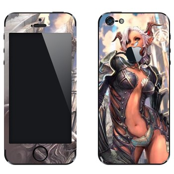 Виниловая наклейка «Высшие Эльфы - Tera» на телефон Apple iPhone 5
