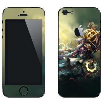 Виниловая наклейка «Зилеан - Хранитель Времени» на телефон Apple iPhone 5