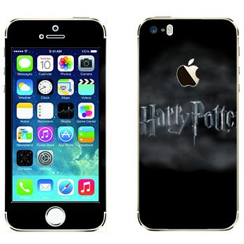 Виниловая наклейка «Harry Potter логотип» на телефон Apple iPhone 5S