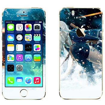 Виниловая наклейка «Sucker Punch» на телефон Apple iPhone 5S